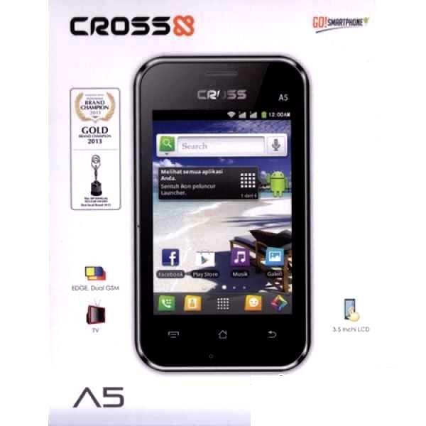 ... android murah datang dari Cross mobile yang merilis Cross A5 dengan