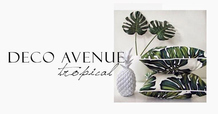 deco avenue tropical deco fashion avenue. Black Bedroom Furniture Sets. Home Design Ideas