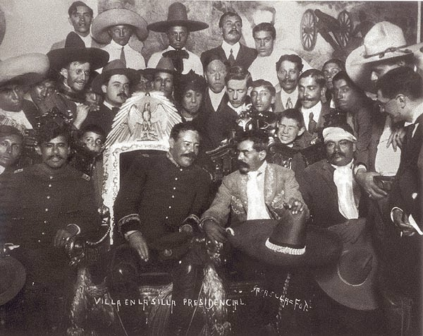 Real life is elsewhere 1914 for Villas zapata