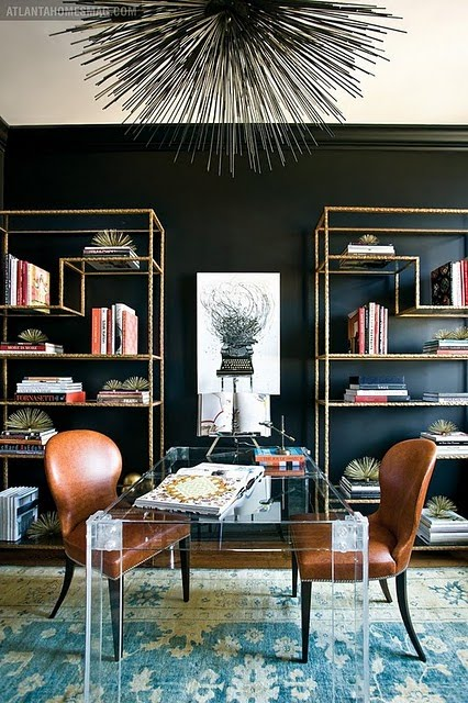 Room Of The Day {glam Home Office}