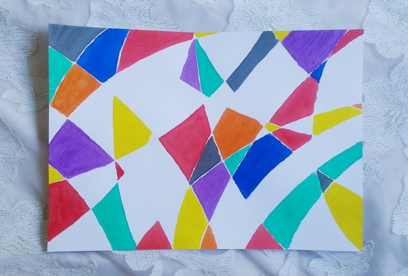cubism art step 02