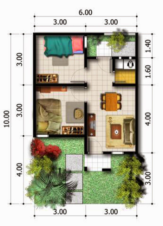 desain rumah minimalis type 32