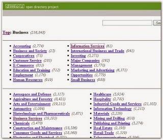 Cara Tepat Mendaftarkan Blog Atau Website Ke Web Directory DMOZ