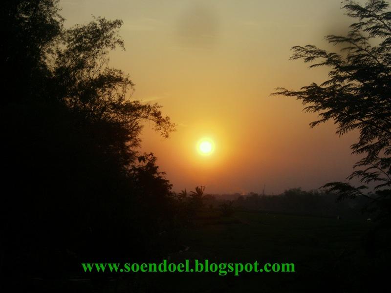 soendoel blog  ingin foto matahari terbit