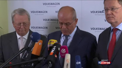 buongiornolink - Volkswagen «Disastro morale e politico»