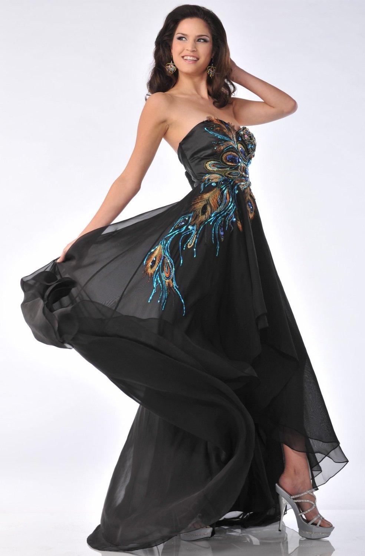Peacock Prom Dresses 2013