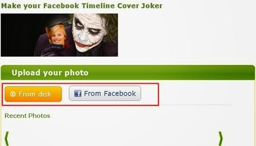 Fazer o upload de sua foto