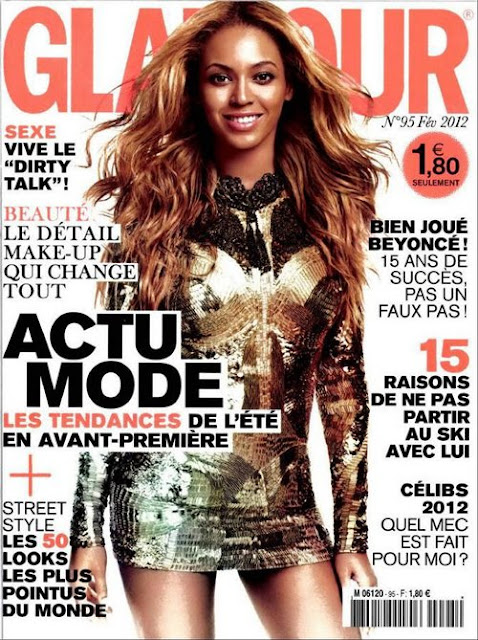 Beyonce Knowles February 2012