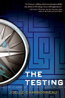 The Testing by Joelle Charbonneau on Amber, the Blonde Writer