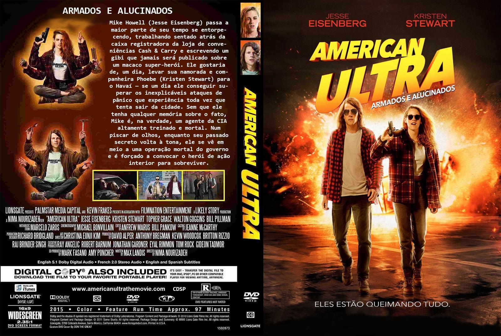 American Ultra Armados e Alucinados BDRip XviD Dual Áudio AMERICAN 2BULTRA 2B  2BARMADOS 2BE 2BALUCINADOS 2B  2B2015 2BC1