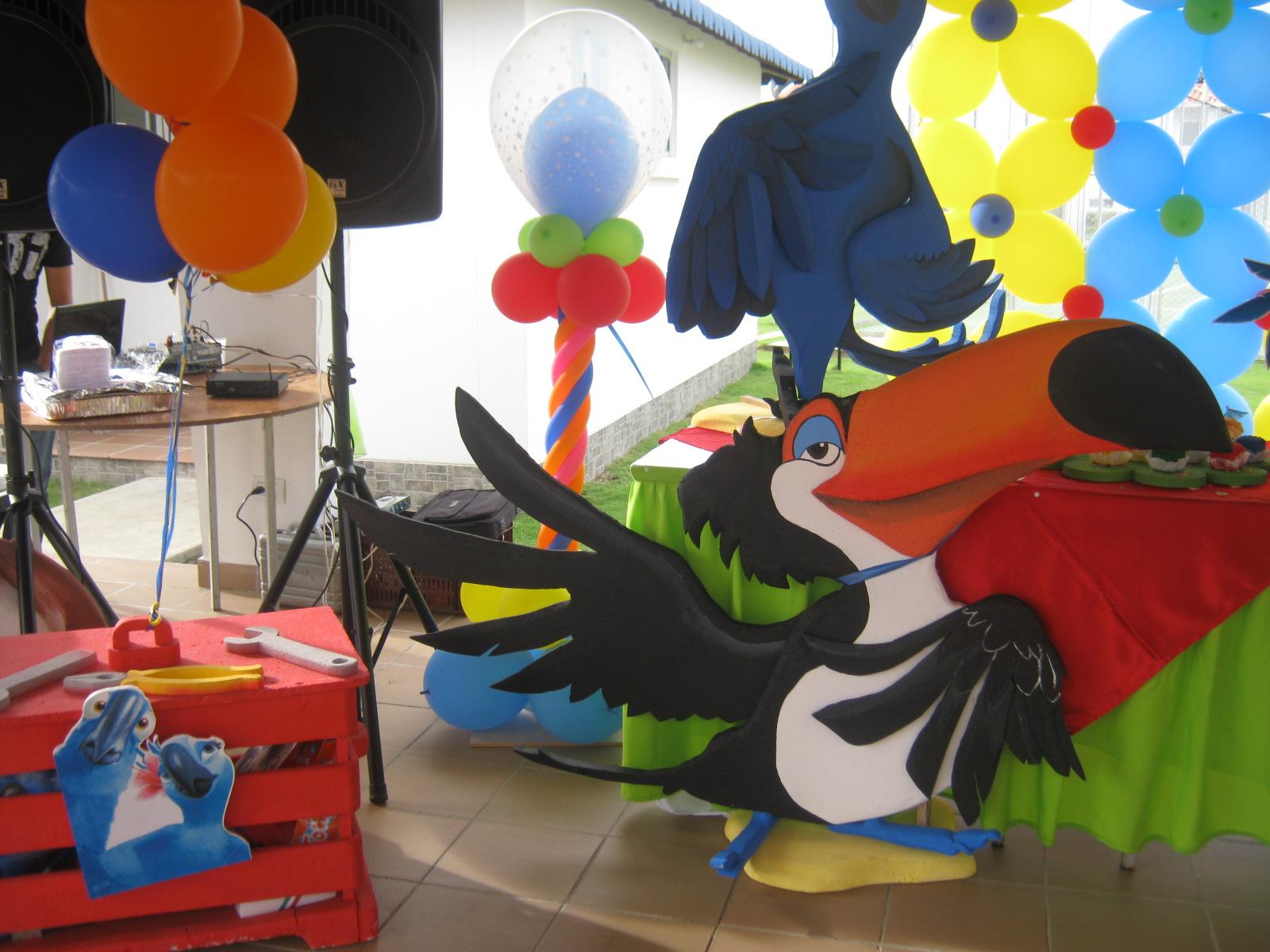 Decoracion Hawaiana Manualidades ~ Ideas Para Decorar Fiestas Infantiles Cumplea Os Muy