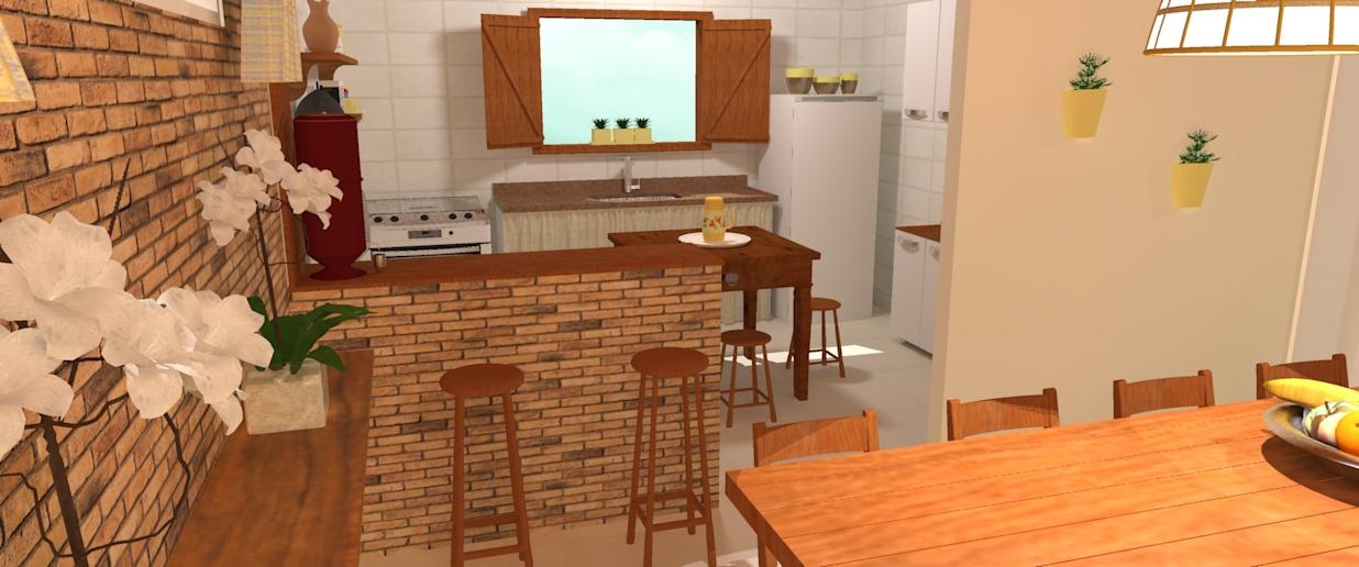 CANTINHO DA ELI Meus projetos Cozinha rústica # Bancada De Pia De Cozinha Rustica