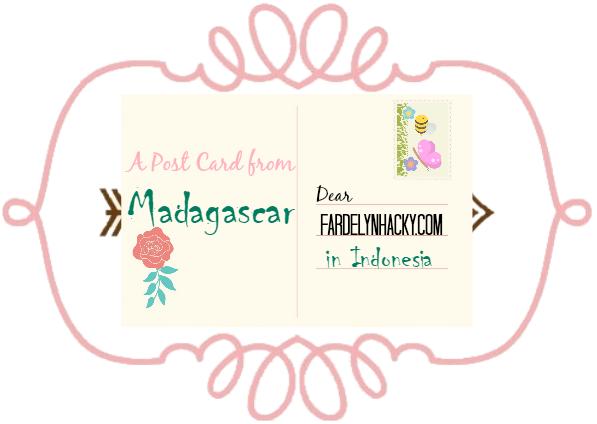 Kartu Pos dari Madagaskar
