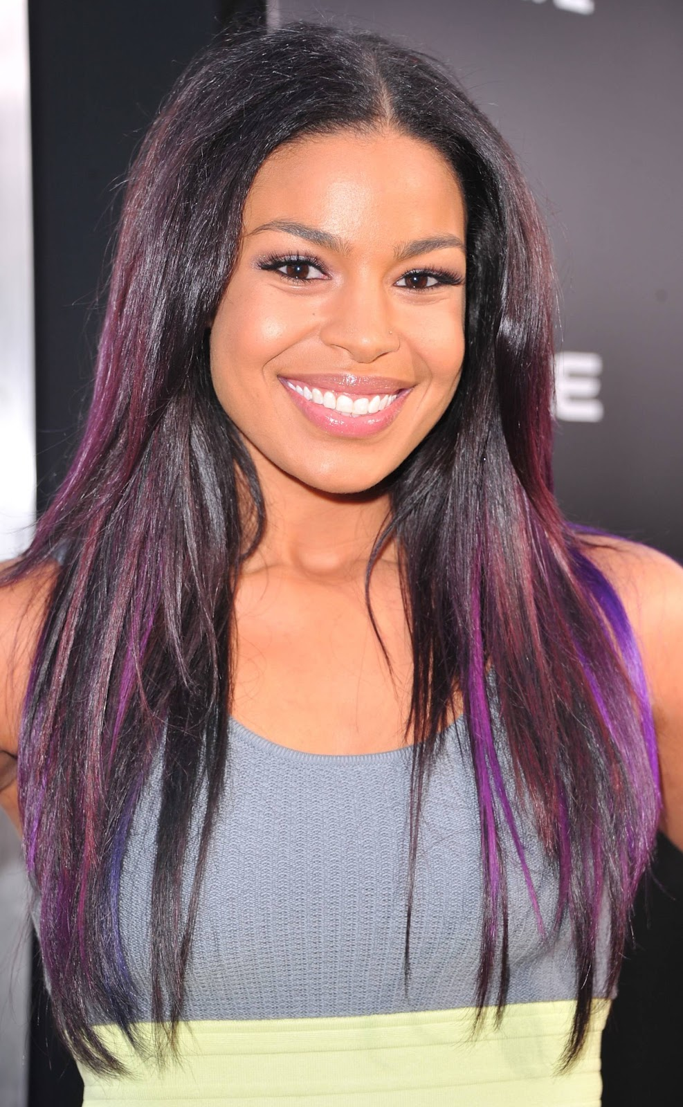 Black Hair With Purple Underneath Images & Pictures - Becuo