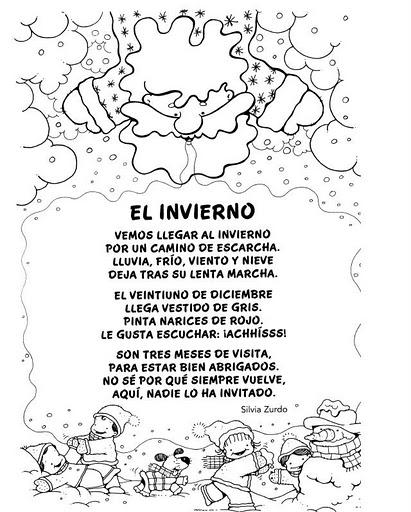 por el rincon en 6 01 etiquetas poesias poesias del invierno recursos