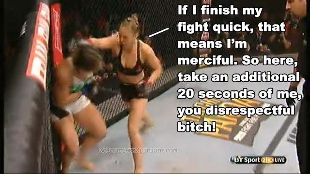 UFC 190 Ronda Rousey KO Correia meme