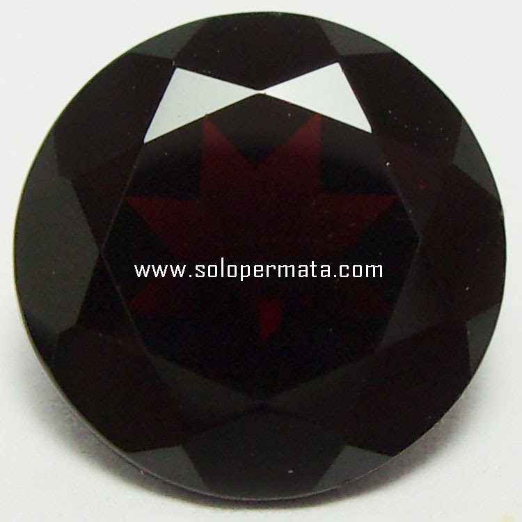 Batu Permata Melanite Garnet - 26A01