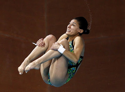 Olympic diver Paola Espinosa of Mexico