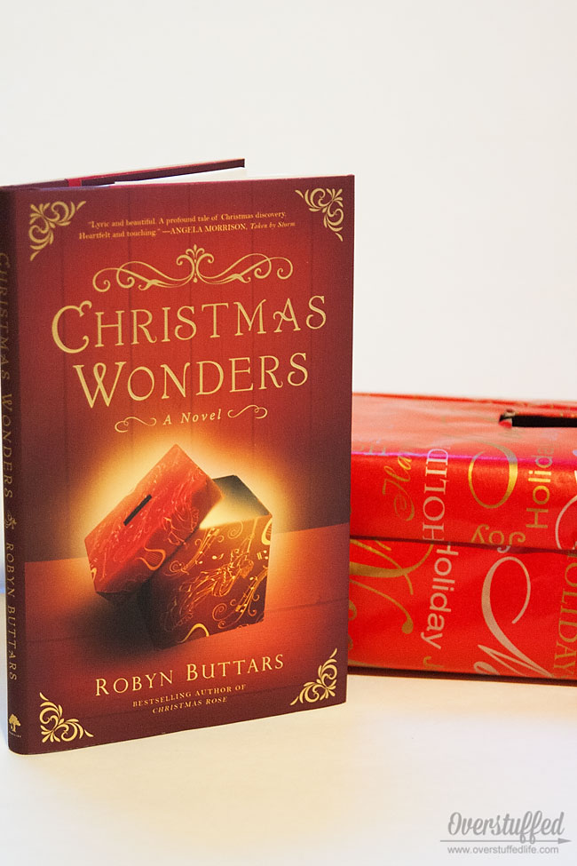 A new and easy tradition: A box for your Christmas Wonders, plus a beautiful new book to read with your family.#overstuffedlife