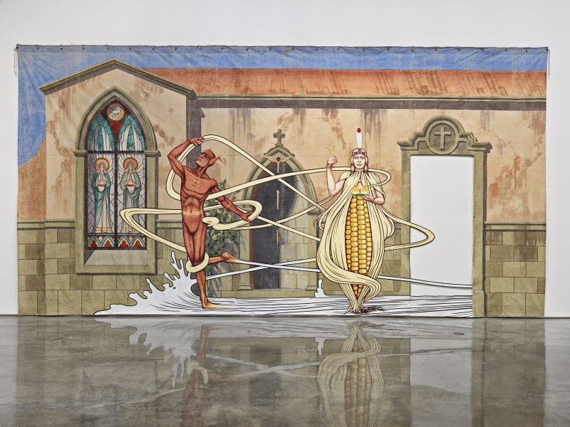 Jim Shaw at Metro Pictures
