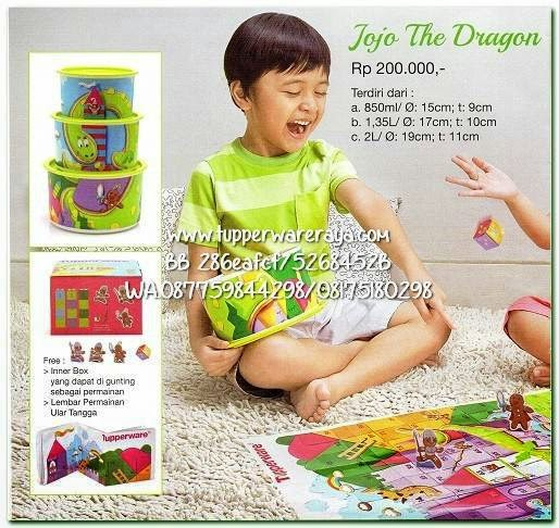 Tupperware Promo April 2015 Jojo The Dragon