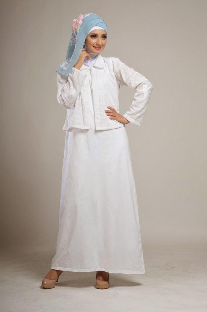 16 Contoh Model Baju Muslim Cardigan Modern Kumpulan