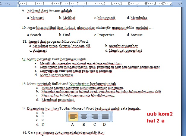 UUB kom2   hal 2a