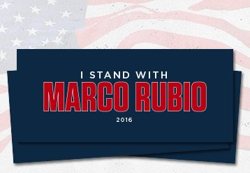 Stand with Marco