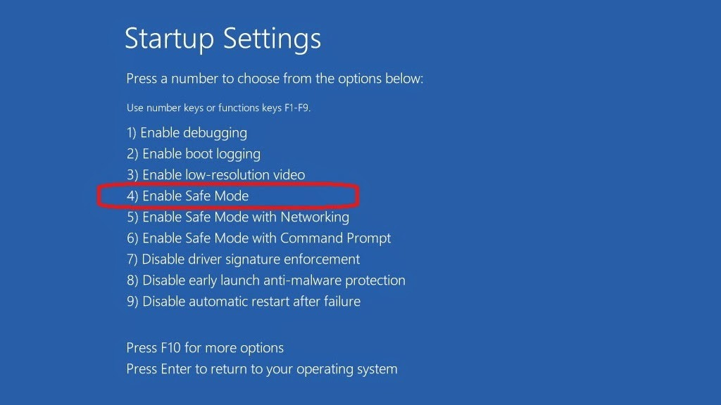 cara masuk safe mode di windows 8 8.1