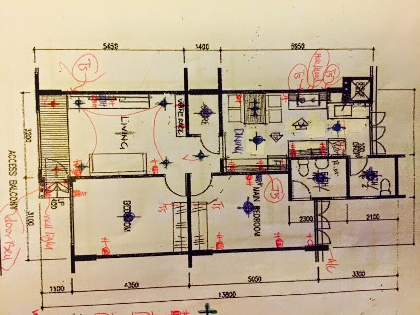resale 3 room flat kitchen cabinet design