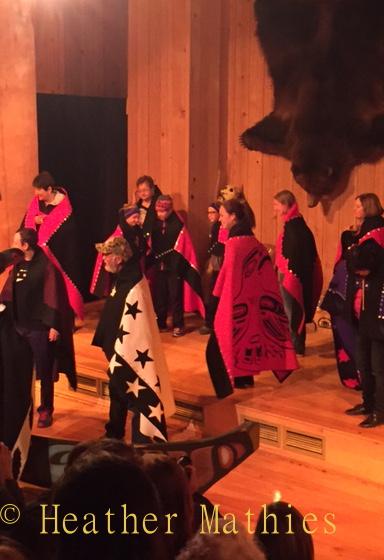 Hoonah dancers