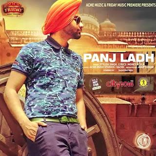 Panj Ladh Lyrics - Stylish Singh