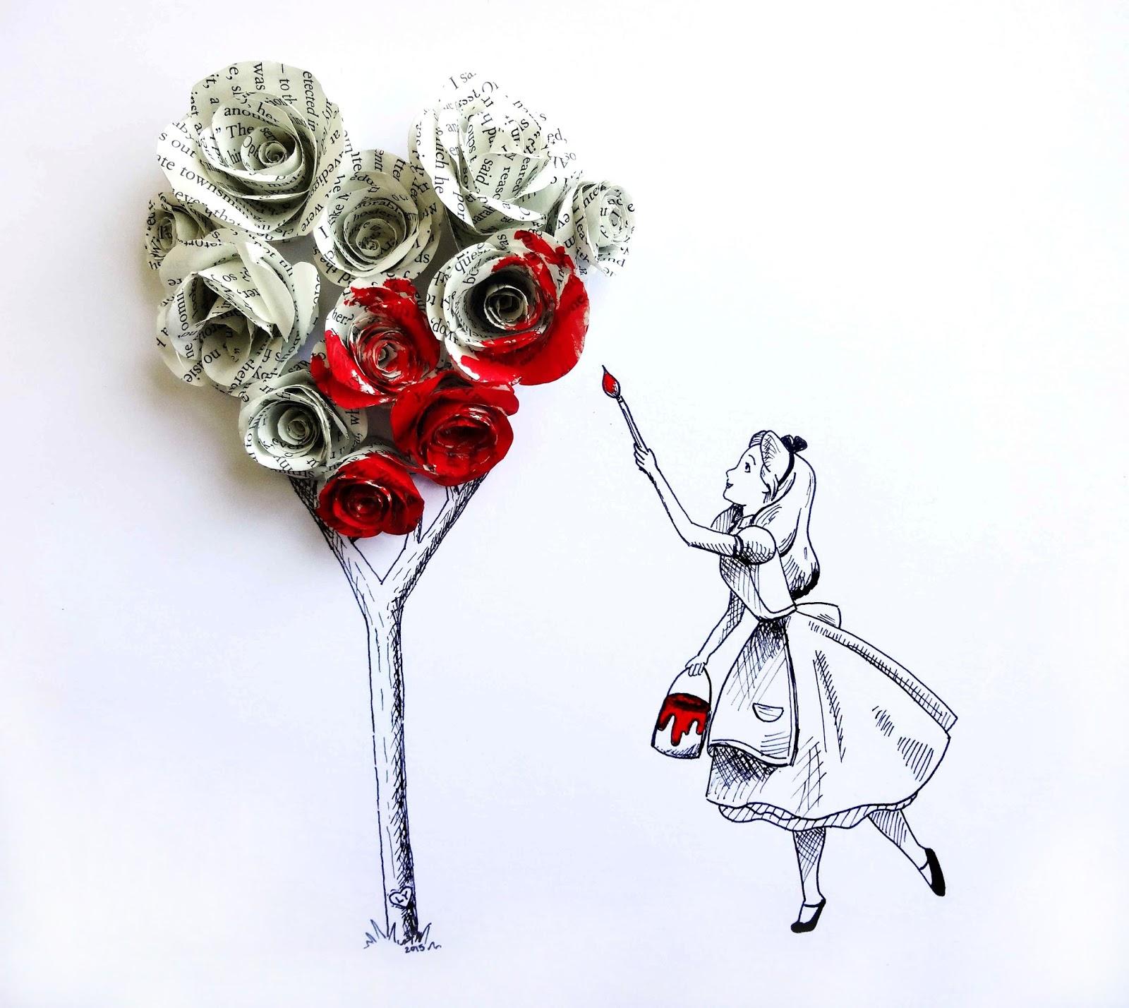 Alice in Wonderland Drawing