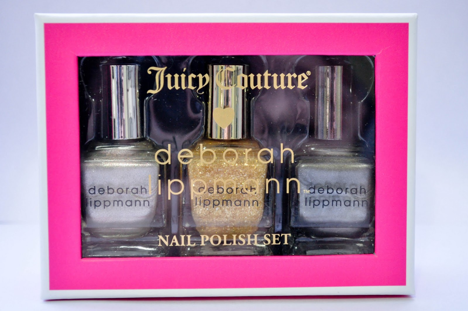 Nail Art Paradise: Juicy Couture x deborah lippmann - Precious Metals