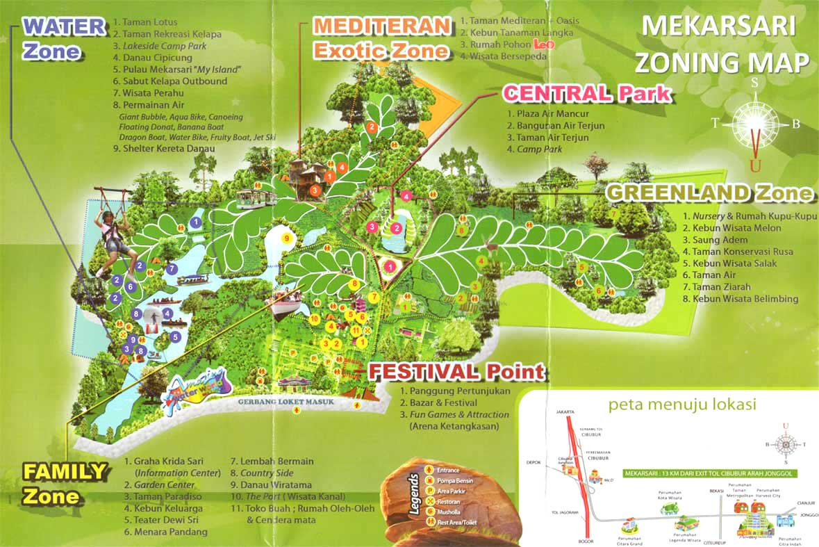 after the introduction all of us are going to the place where compost was made in mekarsari it s quite close so we just walk to there
