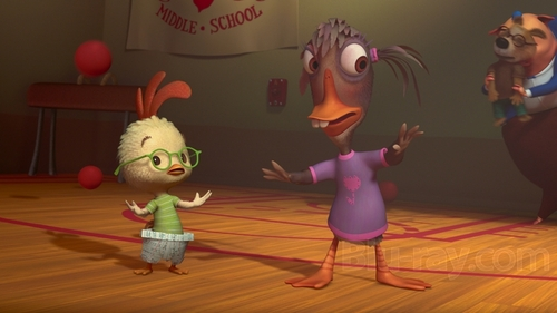 Chicken Little Ugly Duckling animatedfilmreviews.blogspot.com
