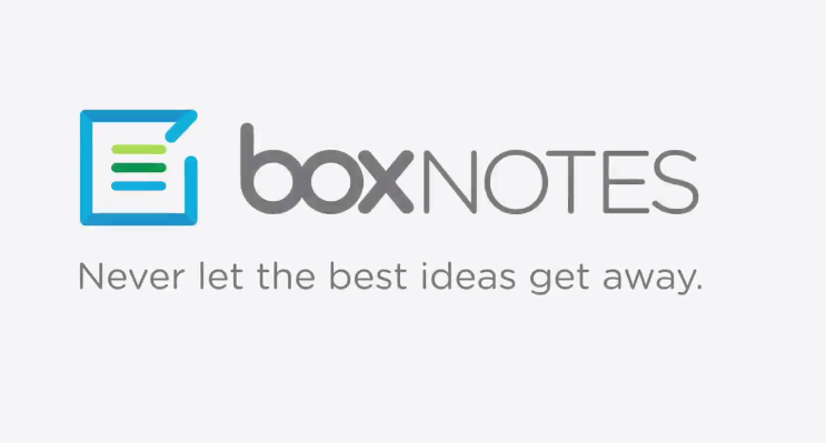 Box, Notes, Box Notes, creating and editing documents, Box for creating and editing documents, internet, Box final version