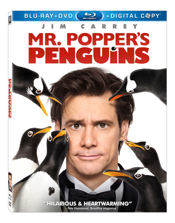 MR. POPPER'S PENGUINS MOVIE REVIEW AND PRIZE PACK GIVEAWAY