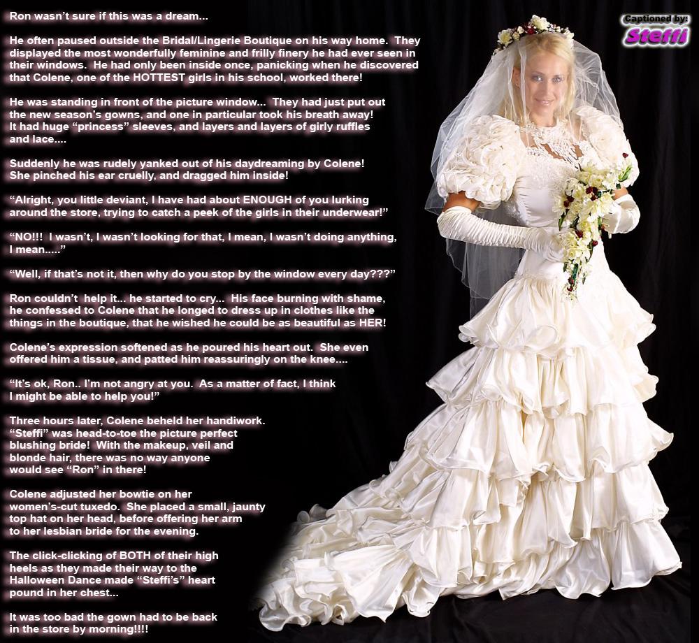 Wedding TG Captions