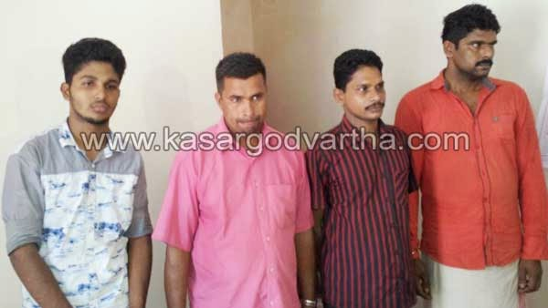Robbery, Police, Arrest, Kasaragod, Kerala, Accused, House Robbery, 5 member Robbers' gang busted, Theft