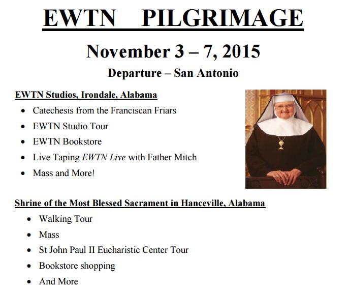 EWTN pilgrimage