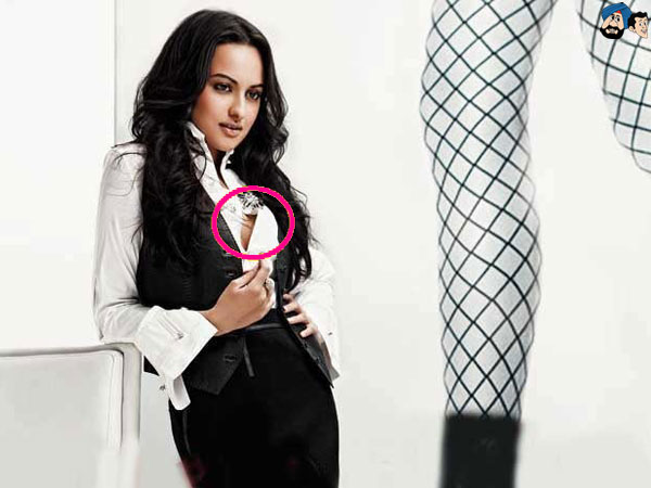 Sonakshi Sinha Wardrobe Malfunctions