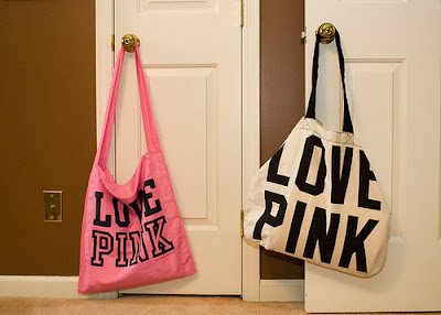 Ecobag fashion-Love pink