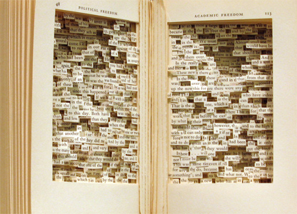 a solitary passion stunning book art