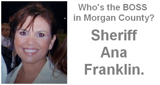 Behind The Blue Wall Al Who S The Boss Sheriff Ana Franklin Is Deputy Fanning Can Appeal If