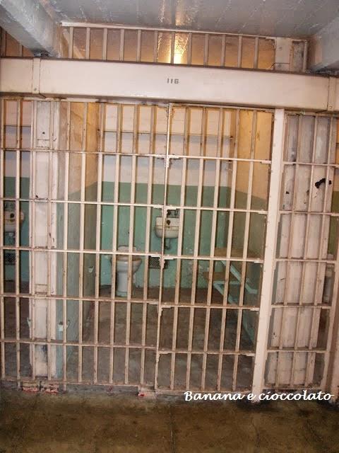 carcere di Alcatraz, cella