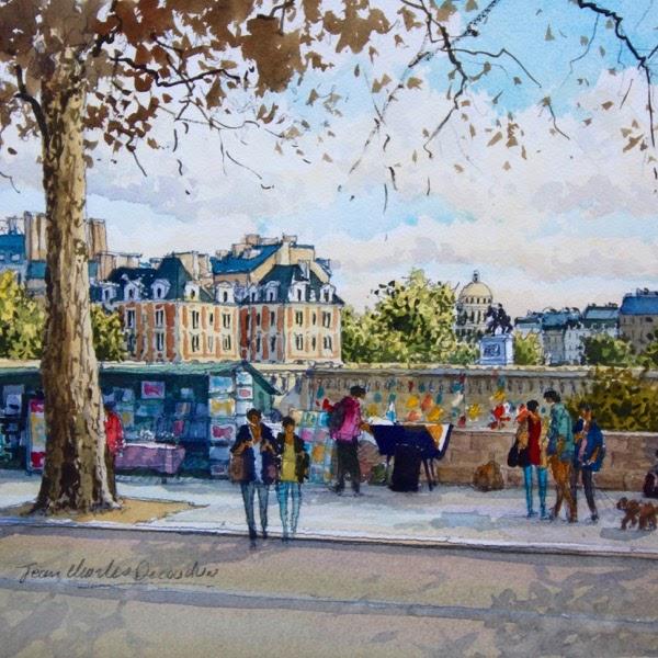 Jean Charles Decoudun Les quais de Seine