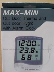 เครื่องวัดอุณหภูมิและความชื้น (Thermo-Hygrometer)