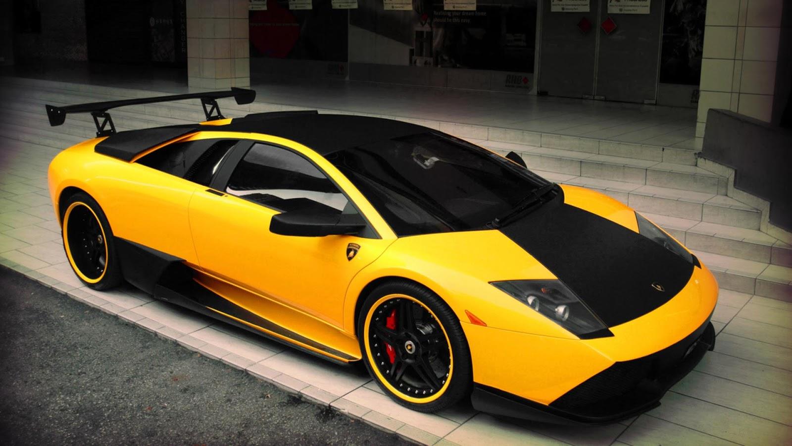 Yellow Lamborghini Cars Pictures