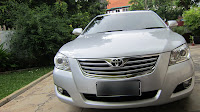 Toyota Camry 2.4V 2008 Silver Triptonic Stnk 1-2014